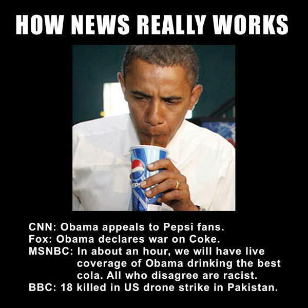 obama drinks pepsi
