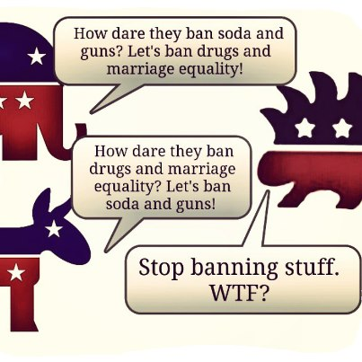stop banning stuff